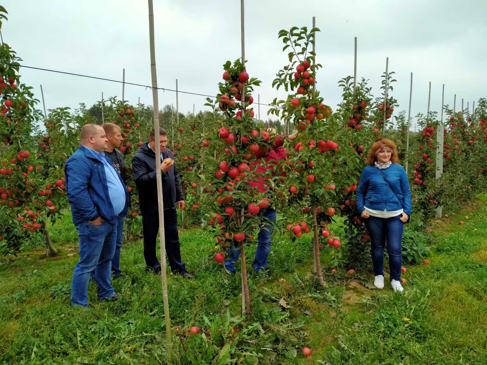 Ознакомительный визит в питомники Гродненского района